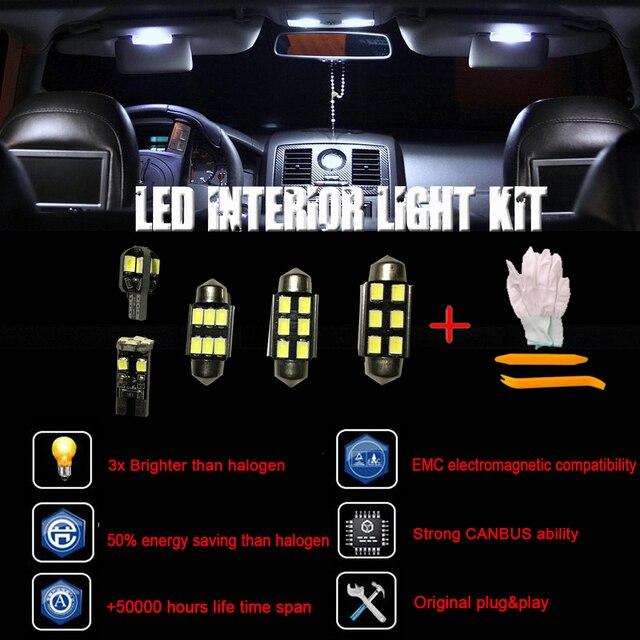 19pcs Canbus Error Free LED Interior Dome Light Kit for Opel Astra H ...