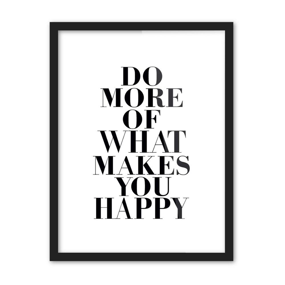 hitam putih motivational hidup quotes tipografi poster a cetak