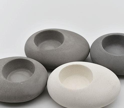 Moule en silicone Béton argile forme pavée chandelier moules en béton de silicone bougeoir maison artisanat décorations