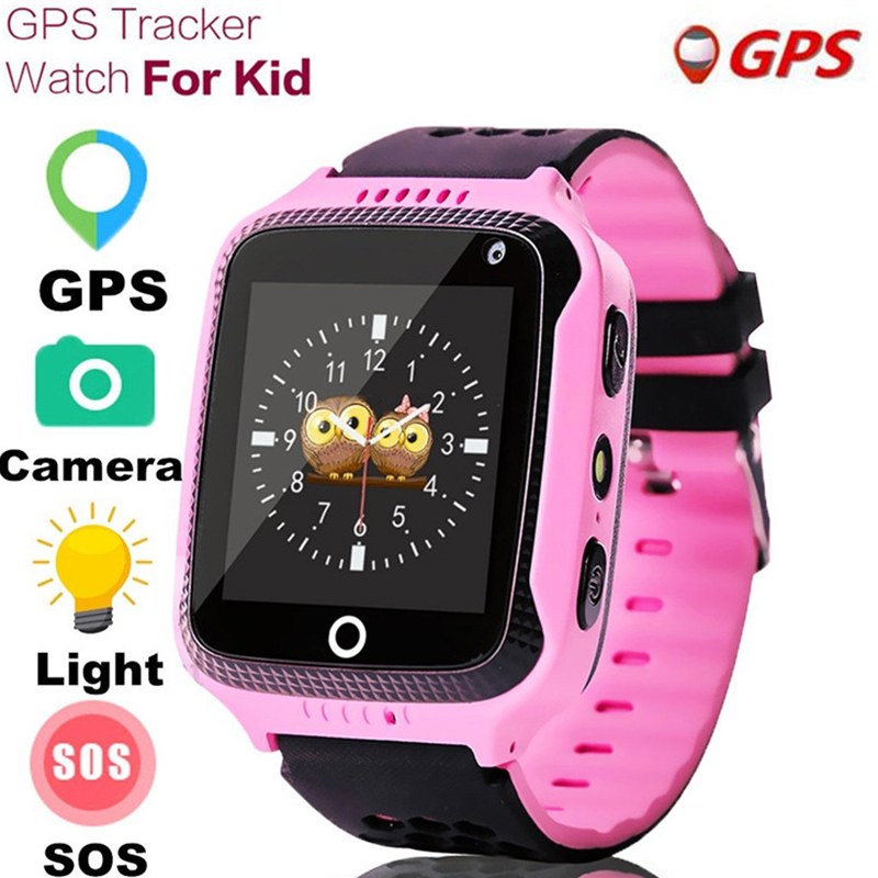 Q528 niño reloj inteligente GPS con cámara linterna bebé ver SOS llamada dispositivo de localización Tracker para chico seguro PK Q100 q90 Q60 Q50