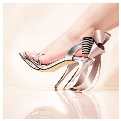 Même Talon Style pink Mayla Toujours Classique En Sandales De chocolate Haute Princesse Silver Complet Espèces Série Le Color 1B1zH