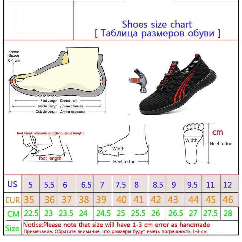 2019 Пеший Туризм обувь Для мужчин дышащая Рабочая безопасная обувь Для мужчин открытый против скольжения Сталь проколов строительные защитные сапоги обувь