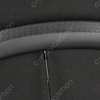 Darmowa dostawa! S specjalna powierzchnia hamulca pełna węgla 700C Superlight węgla 38mm głębokości felgi drogowe w 25 szerokości zewnętrznej Clincher rurowy tanie i dobre opinie Matte Glossy CARBON Rowery drogowe V hamulca ROAD RIM 24-36 Clincher Tubeless TT Track 25mm outer width 26mm U shape Special brake track