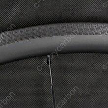 Ücretsiz Kargo! S Özel Fren Yüzeyi Tam Karbon 700C Superlight Karbon 38mm Derinlik Yol Jantlar 25 Dış Genişlik Kattığı/ boru