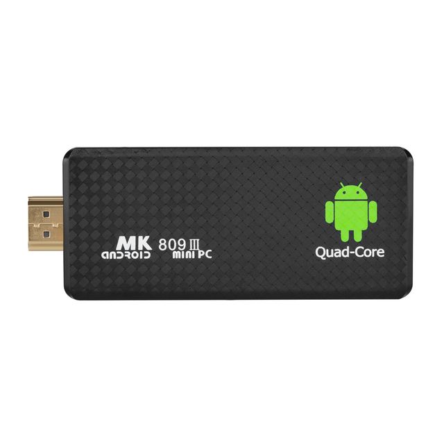 MK809 III 2 gb 8 gb Smart Android 5.1 TV Dongle RK3229 Quad Core 4 k TV Stick Mini PC DLNA WiFi Media Player + NL Keyboard