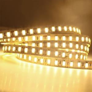 Image 5 - 1 メートル 2 メートル 3 メートル 4 メートル 5 メートルledストリップライトsmd 5630 120leds/mの非防水柔軟な 5 メートル 600 ledテープ 5730 DC12Vテープロープランプライト