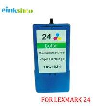 1PCS For Lexmark 24 Color Ink Cartridge 18C1524 for X3530 X3550 X4550 X4530 Z1420 Z1410 Printer