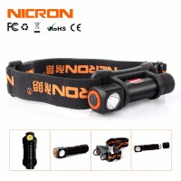 NICRON 1W Mini LED Head Lamp 120Lm Camping 72 Meter Long Beam Waterproof IPX4 Flashlight HeadLight