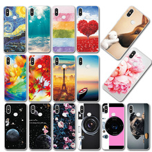 Cases Coque For Xiaomi Redmi Note 7 6.3' Soft Silicone TPU N