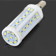 Energy Saving AC 110V / AC 220V E14 Base 10W 50 LED 5630 SMD Led Corn Bulb Lamp Droplight Living Room Kitchen Room Lamp(China)