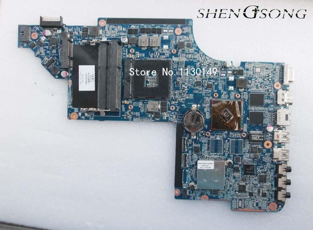 бесплатная доставка оригинальный ноутбук материнской платы 659150-001 для HP павильон dv6-6000 материнской платы и dv6 HD6470M DDR3 на 1ГБ испытанное ОКЕЫ