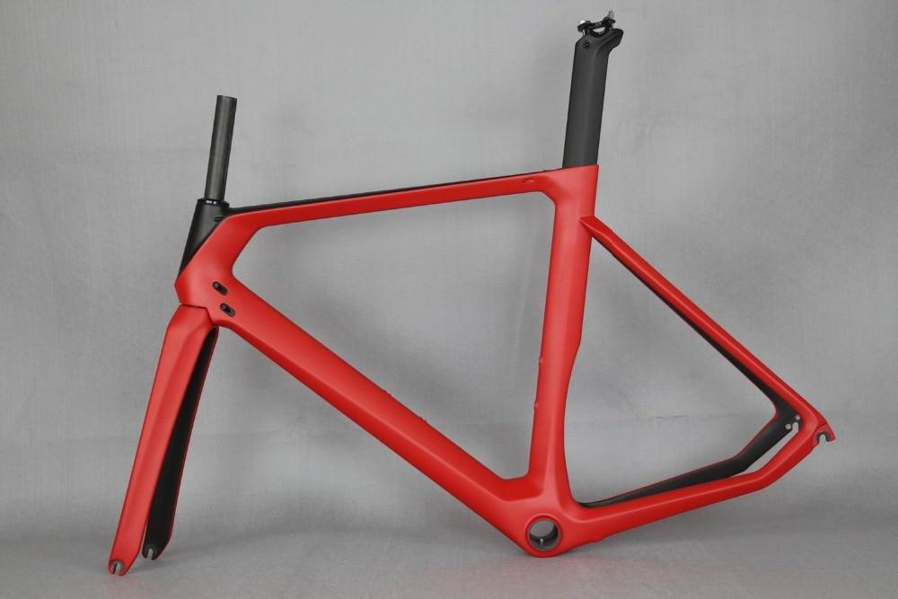 2019 Carbon Bicycle Frame  Carbon Road Frames Carbon Frameset BB86/BSA Frame , Aero Road Bike Frame Accept Paint .