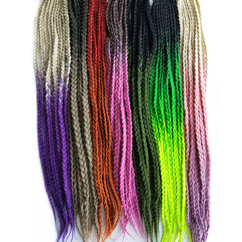 Silky Strands Braiding Hair Bulk 79inch 170g Synthetic Jumbo Braids Hair Extensions Kanekalon Orange Silver Black Mapofbeauty Cheapest Price From Our Site Hair Braids