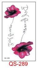 Waterproof Temporary Tattoo Stickers sunflower rose fake Tatto Geometric animal Flash Tatoo Hand Back Foot for Girl Women Men(China)