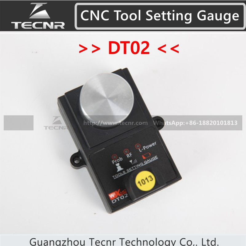 High Accuracy Tool settle Gauge Wireless CNC Router machine Tool Setting Gauge Height Controller DT02