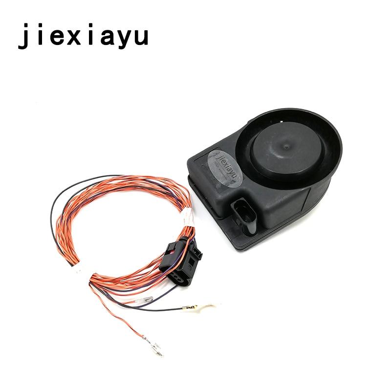 1SET New OEM Car Security Alarm Speaker Horn For GOLF6 MK5 6 PASSAT B6 TIGUAN POLO Superb JETT A 1K0951605C 1K0 951 605 C oem new rcd310 1k0 035 186an 1k0 035 186 ar for bosch vw