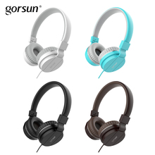 Wired Headphones Gorsun GS779 Lightweight Stereo Foldable Adjustable He