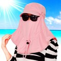 Крышка женщин летом солнце - вс-затенение шляпа летом шляпу складной открытый защита шеи анти-уф