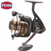 цена на Penn Battle II 3000-8000 Size Spinning Fishing Reel 6BB 13.6kg HT-100 Drag Full Metal Body Lure Reels Carretel De  Moulinet Coil