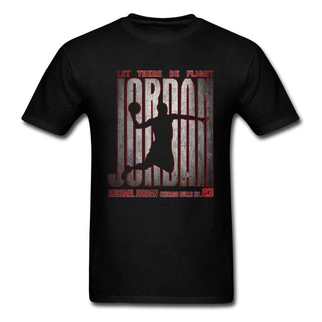 T-shirts Hipster Michael Jordan Chicago Bulls