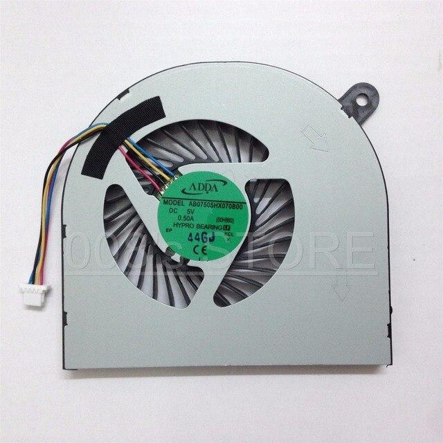 Original New Laptop GPU Cooling Fan For Acer Aspire V Nitro VN7-591 VN7-591G Right Side ADDA AB07505HX070B00 DC 5V 0.5A 00H860