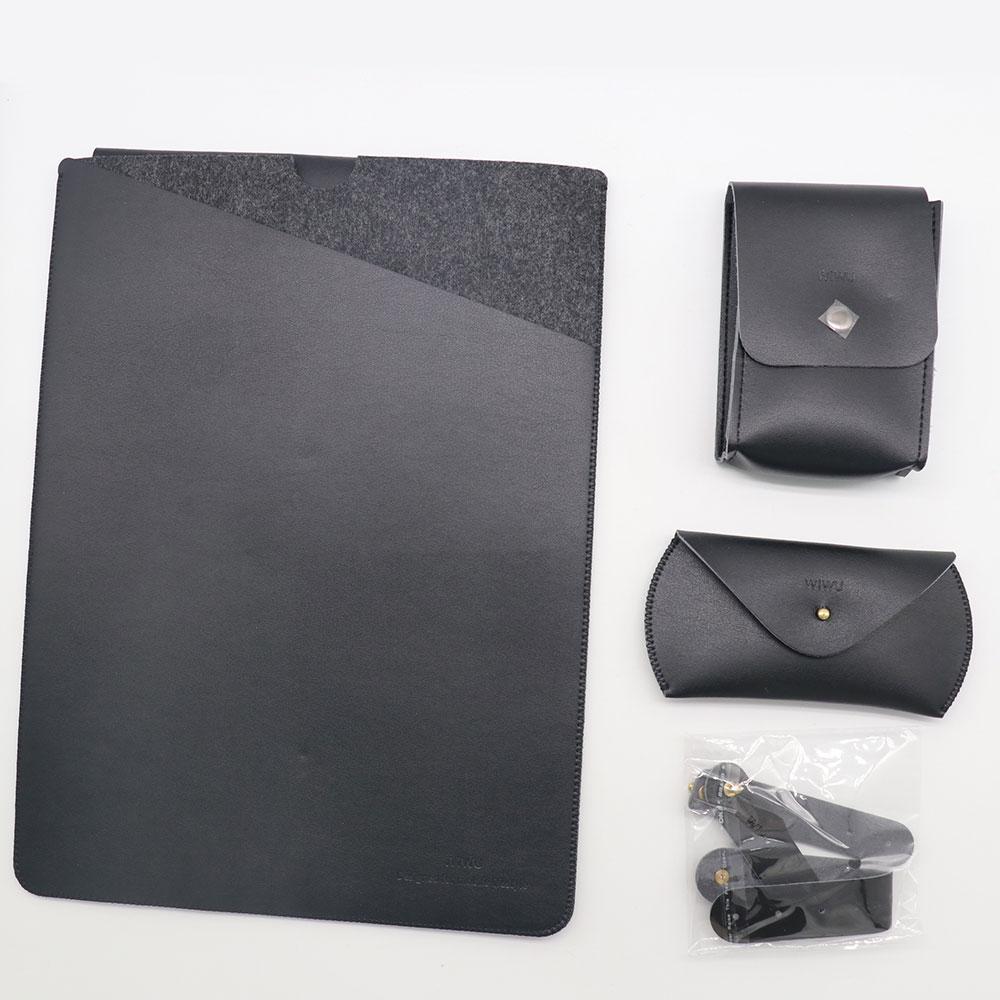 WiWU Laptop Bag Case for MacBook Air 13 Case 4 in 1 Set Laptop Sleeve for MacBook Pro 13 15 Carry Case for MacBook Pro 13
