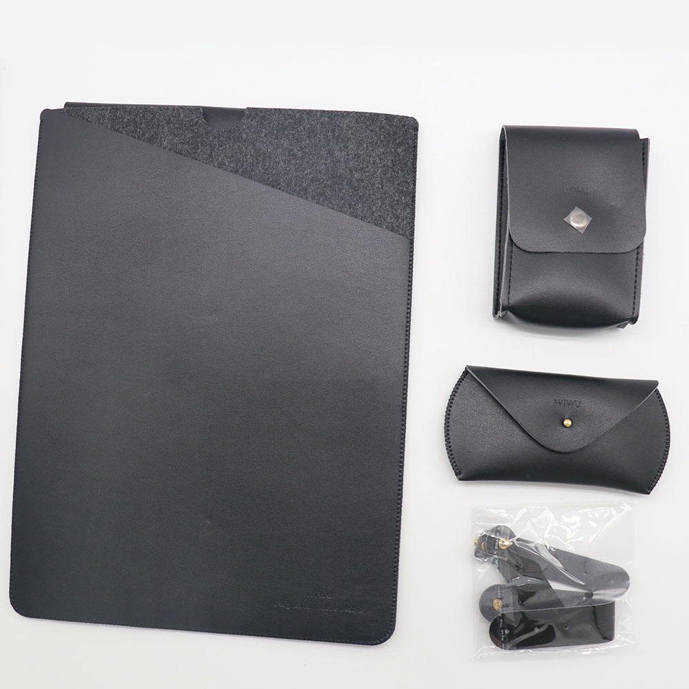 WiWU Laptop Bag Case for MacBook Air 13 4 in 1 Set Sleeve Pro 15 Carry