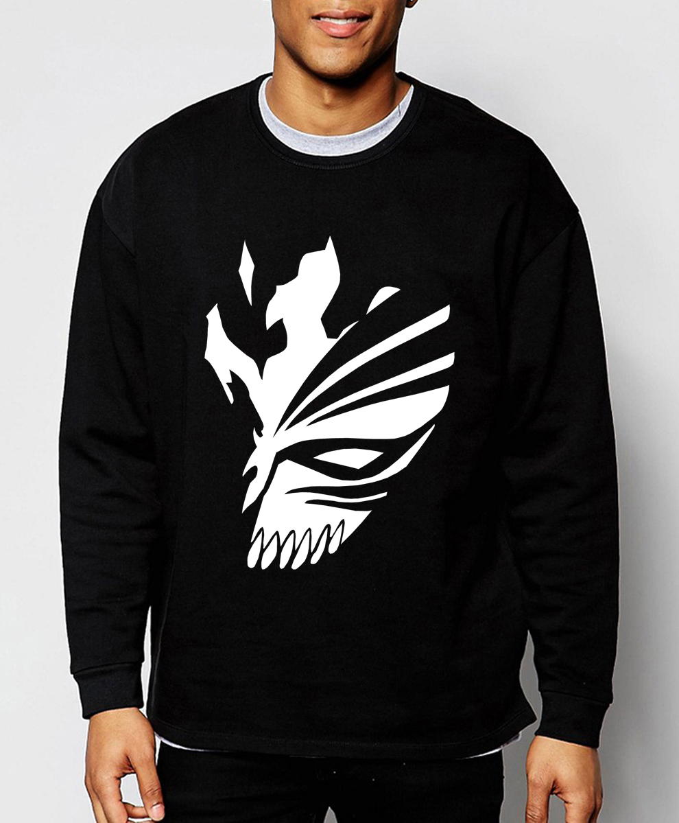 BLEACH anime Kurosaki Ichigo sweatshirt harajuku men hoodie 2019 spring winter fashion  hoodies men tracksuit  brand-clothing