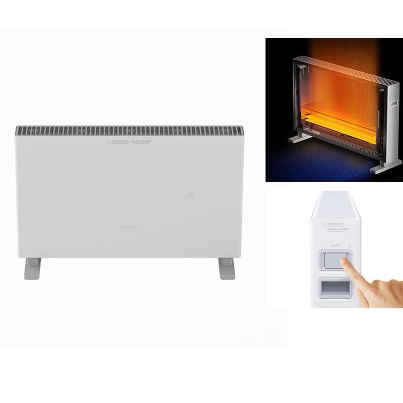 Smartmi Xiaomi Riscaldatori Elettrici Veloce Termoconvettore riscaldamento A Portata di mano fan Riscaldatore scaldino Radiatore risparmio energetico Silenzioso Doppia protezione