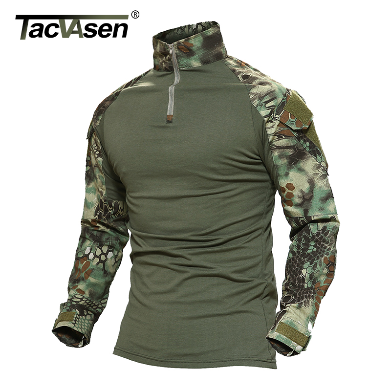 tacvasen python camouflage male t shirts army combat. Black Bedroom Furniture Sets. Home Design Ideas