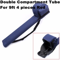 Maximumcatch Fly Fishing Rod Tube Triangle Rod Case 77cm 30 3inch Double Compartments For 9ft Fly