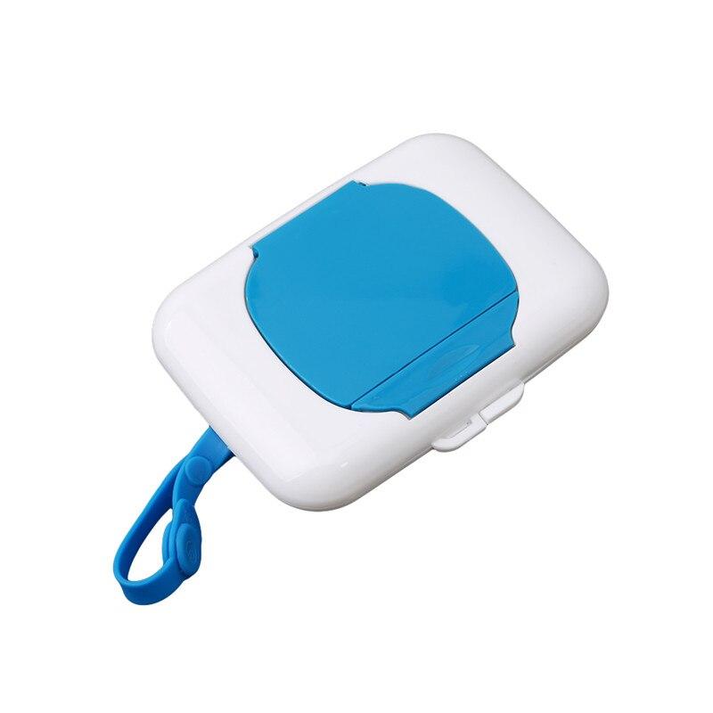 HENGSONG Portable Travel Wipes Dispenser Case for Stroller Diaper Bag Hot Pink 1#