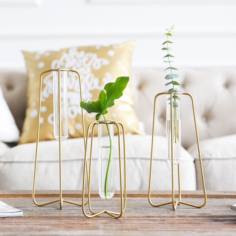 1 Piece Vase Modern Home Decor Artificial Flowers With ...