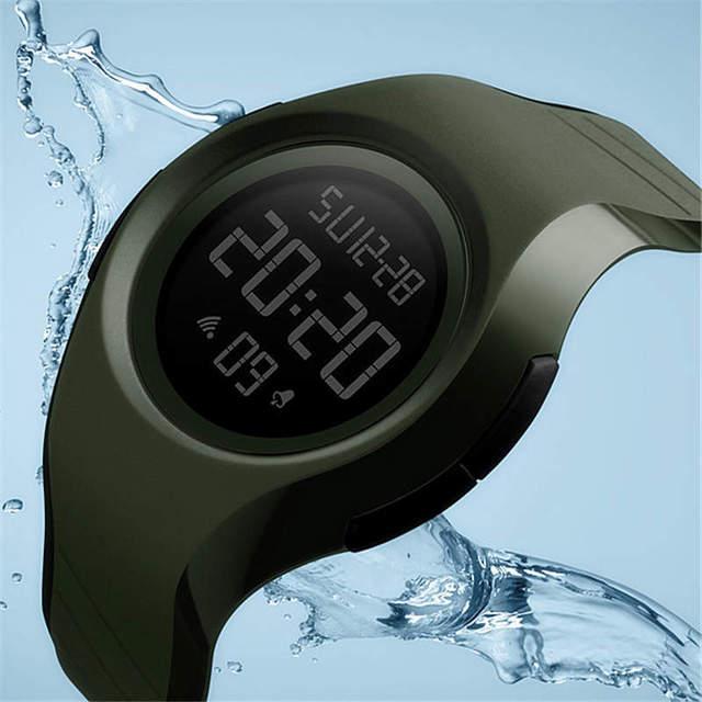 50M Waterproof Swimming Watch Men Watches Led Digital Electronic Wristwatch Spor