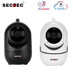 SECTEC Cloud Wifi камера 1080 P HD IP камера с автоматическим отслеживанием человеческого дома безопасности видеонаблюдения сети Wifi Cam