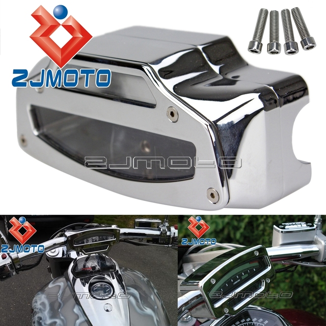 US $90 25 5% OFF|Motorcycle Chrome Gauge Meter Housing Tach Tachometer  Cover For Suzuki Boulevard M109 M109R M109LE M109N 2006 2011 -in Covers &