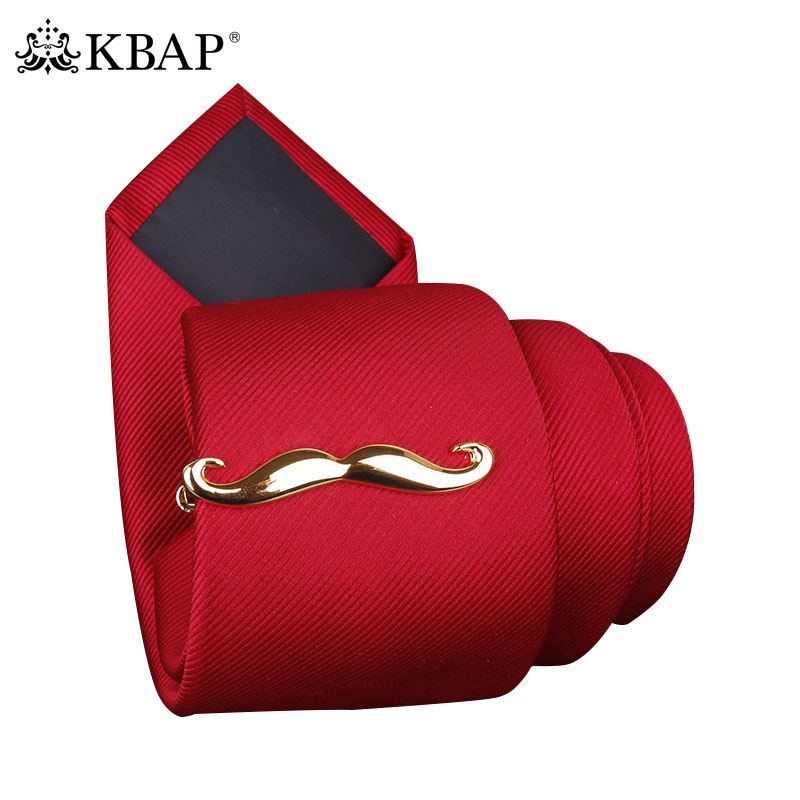 d21f1c0b7967 Men's Cool Mustache Tie Bar Clip Silver Gold Wedding Novelty Necktie Neck Tie  Clips Pins Jewelry Gifts for Father Husband Him