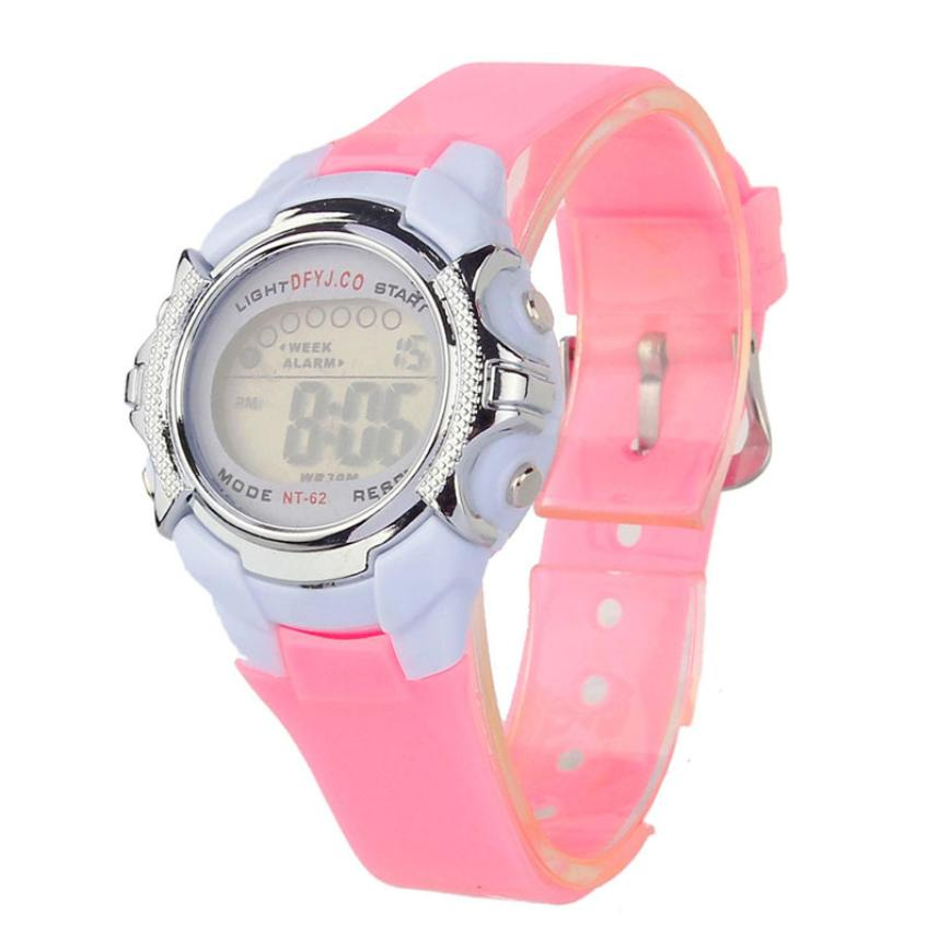 New Women Sports Watches Digital Clock Ladies Watches Student Girl Fashion Women Wristwatch Hours Relojes Mujer  #D