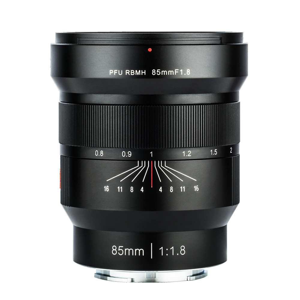 Viltrox 85mm F1.8 Manual Focus Portrait Lens,EXIF/Aperture Control/Anti-shake for Sony E Mount Full Frame Camera A7 A7III A7RII image
