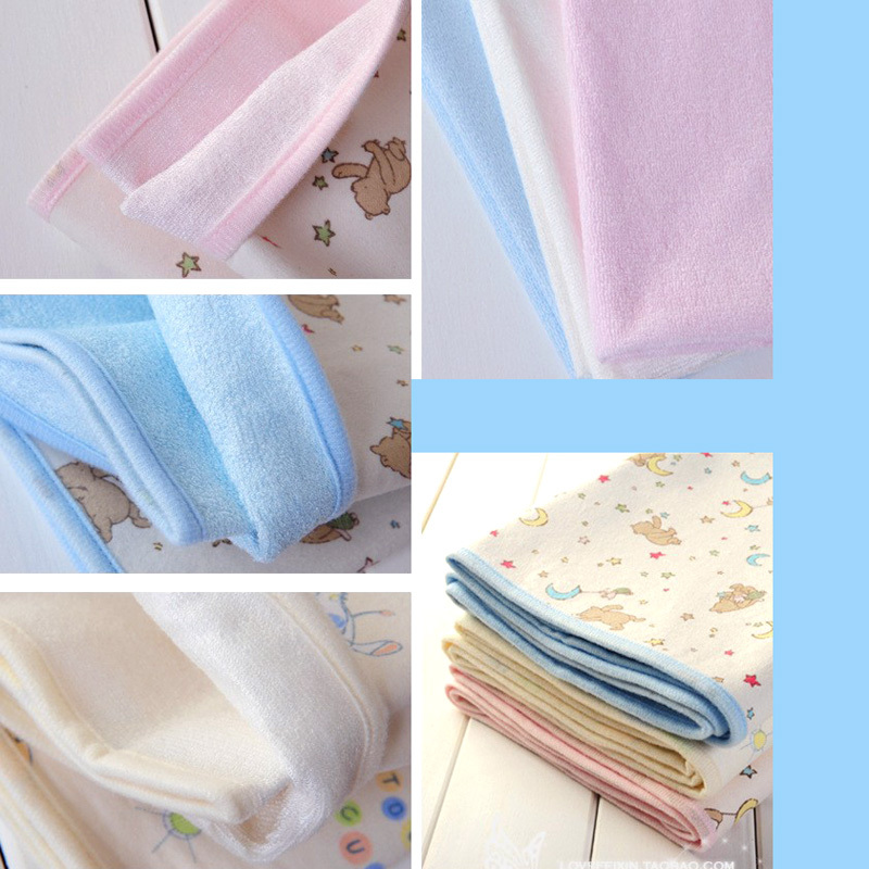 Bamboo Fiber For Baby Infants Reusable  Waterproof Urine Mat Cover Changing Pad Large Changing Pads & Covers 70*118cm