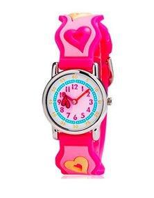 2016 High Quality Watch For Girls Heart-shaped Waterproof  Kid Watches Brand Quartz Wrist Watch Girl Boys Casual Watch