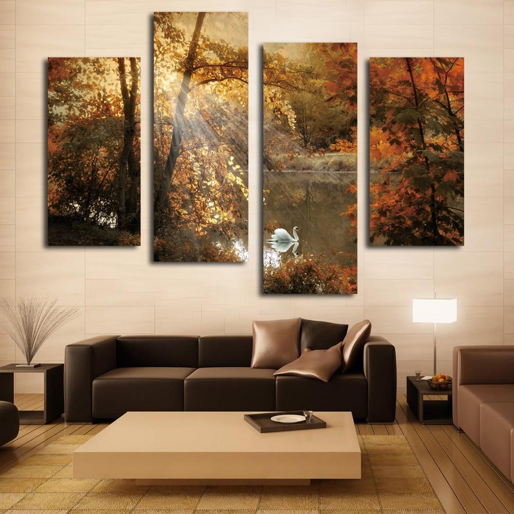 Multi Panel Wall Art for Living Room