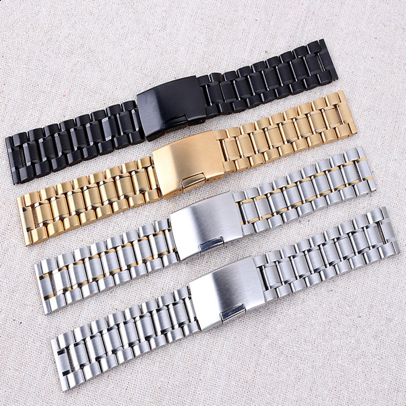 High Quality luxury Men watchband 24/26mm stainless steel / leather strap available for Diesel watches Band men DZ