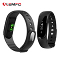 LEMFO ID101HR Bluetooth Smart Band Heart Rate Monitor Dynamic Pedometer Sport Bracelet Fitness Tracker pk xiaomi mi band 2 1s