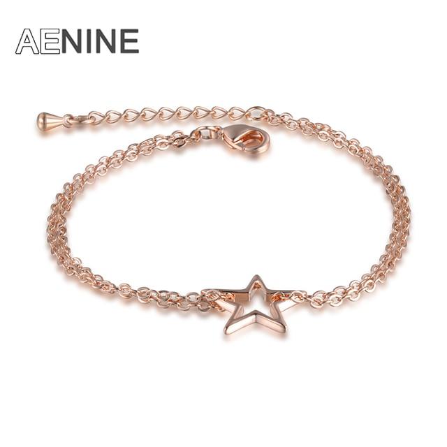 AENINE Trendy Rose Gold...