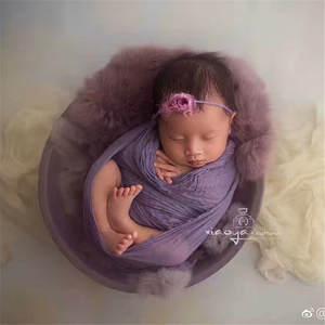 newborn baby wood bowl Newborn photography props
