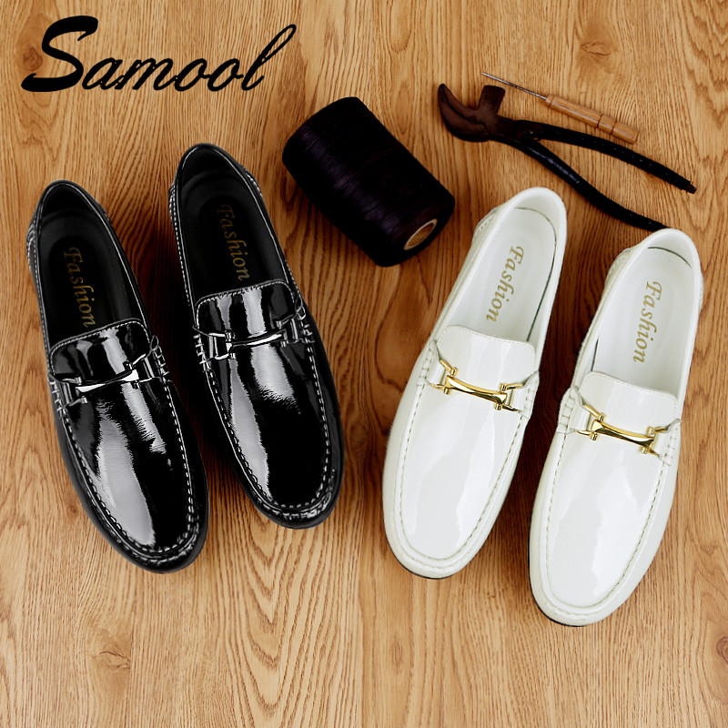 Conduite En Mocassins On Véritable Masculino Noir Slip Cuir Appartements Sapatos white Italien Hommes Black Chaussures Casual Sex3 UzMGjLSpqV