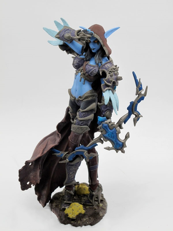 NEW in stock Forsaken Queen Sylvanas Windrunner Action Figure wow DC6 Collectible Toy