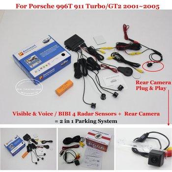 For Porsche GT3-1 911 GT3 Car Parking Sensors Rear View Back Up Sensor Reverse Camera Auto Alarm System