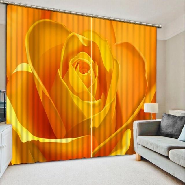 Luxe Européenne Moderne 3d rideaux de mode décor décoration pour ...